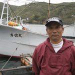 黄金穴子の漁師さん